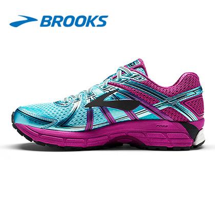 Brooks布鲁克斯 ADRENALINE GTS 17 稳定跑鞋 女 120231 冰岛蓝(柔软缓震,全面稳定)