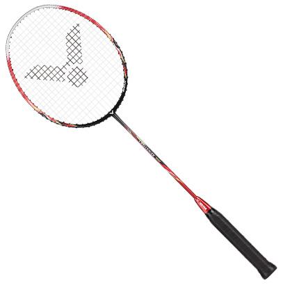 胜利VICTOR羽毛球拍 挑战者9500D 红色(火龙枪新配色,入门级神器)