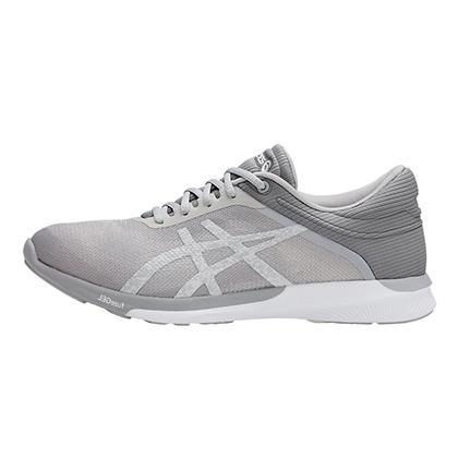 爱世克斯 ASICS 亚瑟士 fuzeX Rush 缓震慢跑鞋 女 T768N-0193 青灰色(轻量灵活,稳定缓震)