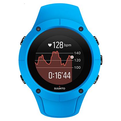 SUUNTO颂拓/松拓 SPARTAN TRAINER 斯巴达酷跑光电心率手表 蓝色(轻便舒适,数据更精准)