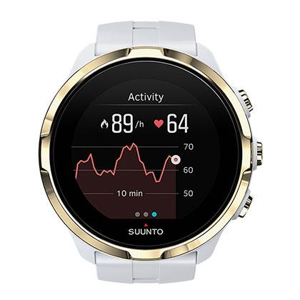 SUUNTO颂拓/松拓 斯巴达极速光电心率手表Spartan Sport Wrist HR 白金(彩色触屏,无惧探险)