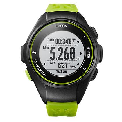 EPSON 爱普生 PROSENSE GPS运动手表 J-10 野地绿(日本品牌,为运动而生)
