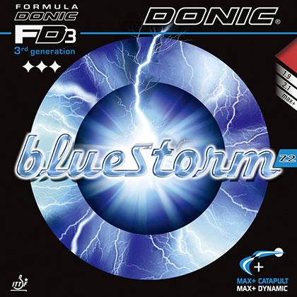 多尼克DONIC bluestonm 蓝色风暴Z2套胶 多尼克Z2胶皮