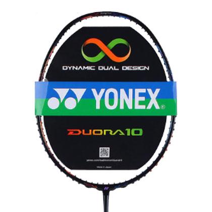 尤尼克斯YONEX 双刃10羽毛球拍DUORA10 蓝橙 攻守兼备全能战拍 双刃系列旗舰款