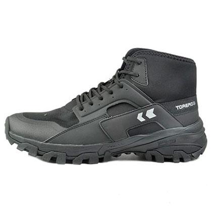 探路者 男式登山鞋 HFBF91023-G01G 黑色/银色(超轻材质,耐磨舒适)