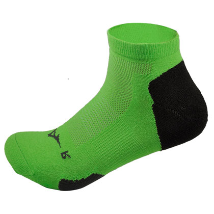 美津浓跑步袜 J2MX5502 绿色(带有防滑胶粒,跑起来更带劲)