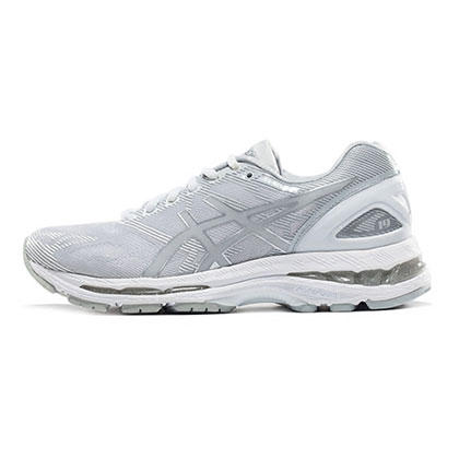 爱世克斯 亚瑟士ASICS GEL-NIMBUS 19 缓震慢跑鞋 女 T750N-9693 灰色(顶级缓震,稳定支撑)