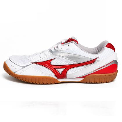 美津浓Mizuno 乒乓球鞋 81GA163062 红色经典款