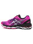 亚瑟士ASICS 跑步鞋运动鞋慢跑鞋童鞋 NIMBUS17 洋红色(35.5码)