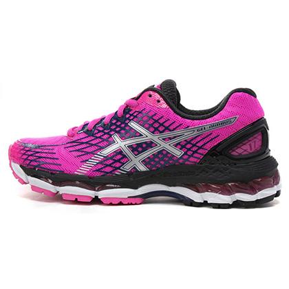 爱世克斯 亚瑟士ASICS 女款跑步鞋 NIMBUS17 洋红色(日本版本,缓震跑鞋)