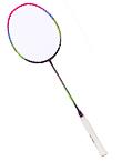 李宁羽毛球拍 WS72 风暴72 紫粉款 女士拍儿童拍 超轻羽拍 可拉30磅 AYPM198-1 热销型号