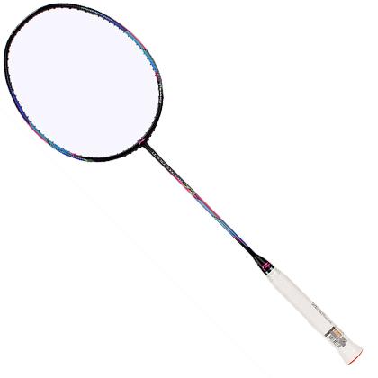 李宁羽毛球拍 WS72 风暴72 黑色款 超轻羽拍 可拉30磅 AYPM204-1 中国李宁最热销的中端球拍之一