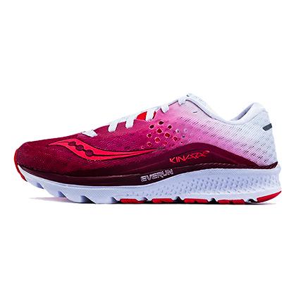 Saucony圣康尼跑鞋kinvara8女款跑鞋S10356-5 红/白(独特科技,越跑越舒适)