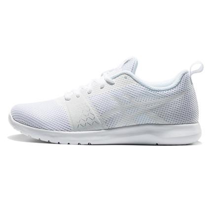 ASICS 亚瑟士跑步鞋KANMEI MX女款缓震跑鞋T899N-0101 白色(亚瑟士小白鞋!入门跑者性价比之选)
