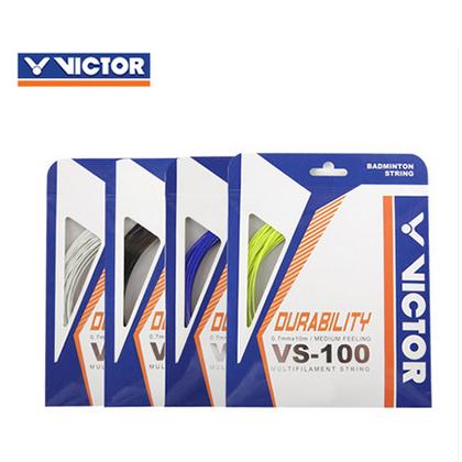 VICTOR胜利VS-100(vs100)单条装羽毛球线 (持久耐打,控球更稳定)