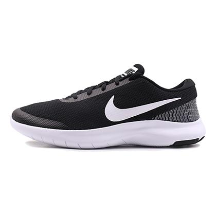 耐克NIKE 跑步鞋 FLEX EXPERIENCE RN 7 男款 908985-001 黑色(轻盈透气,缓震贴合)