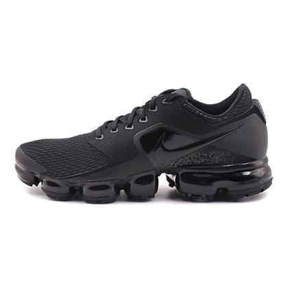 耐克NIKE 跑步鞋 Air VaporMax 女款气垫跑步鞋 AH9045-002黑色(轻盈缓震,稳定支撑)