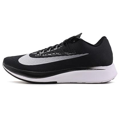 耐克NIKE 跑步鞋 Zoom Fly男款競速跑步鞋 880848-001 黑色(訓練到競賽,自由駕馭)