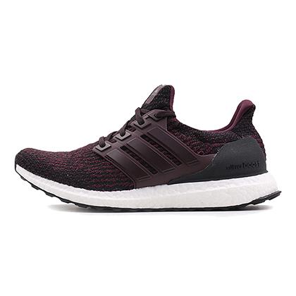 阿迪达斯Adidas跑步鞋 Ultra boost3.0男款跑步鞋 S80732酒红/黑(旗舰款跑鞋)