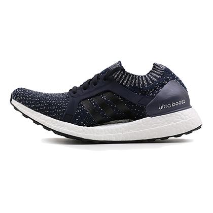 阿迪达斯Adidas跑步鞋 Ultra boostX女款跑步鞋 BY1673 墨水蓝/黑(旗舰跑鞋,专为女性打造)