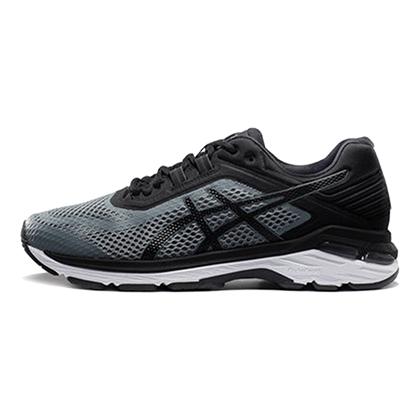 亚瑟士ASICS GT2000 6跑步鞋男款稳定慢跑鞋T805N-1190 灰色/黑色(稳定跑鞋,18年新品尝鲜)