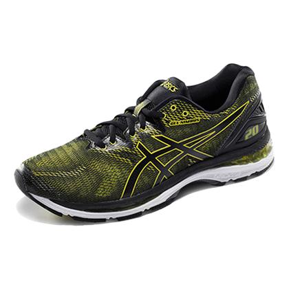亚瑟士ASICS GEL-NIMBUS 20跑步鞋N20男款缓震慢跑鞋T800N-8990 亮绿色(李治廷明星同款)