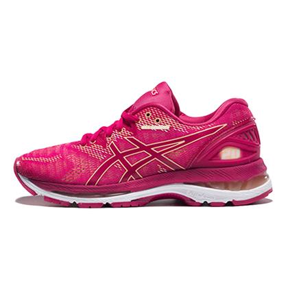 亚瑟士ASICS NIMBUS 20跑步鞋N20女款缓震慢跑鞋T850N-2121 玫瑰粉(蓄能减震,至轻回弹)
