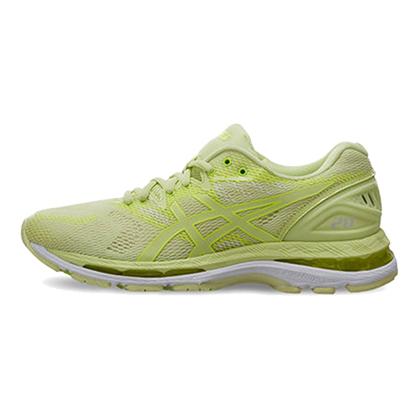 亚瑟士ASICS跑鞋之王N20女款慢跑鞋运动鞋 NIMBUS 20跑步鞋T850N-8585 苔绿色(蓄能减震,至轻回弹)