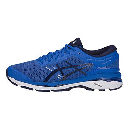 亚瑟士ASICS跑鞋 K24男款慢跑鞋GEL-KAYANO 24 T749N-4549 宝蓝色/深海蓝(跑鞋之王)
