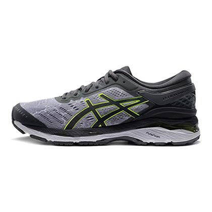 亚瑟士ASICS跑步鞋 K24男款夜光版跑鞋GEL-KAYANO 24 LITE-SHOW T8A4N-9695 麻灰色