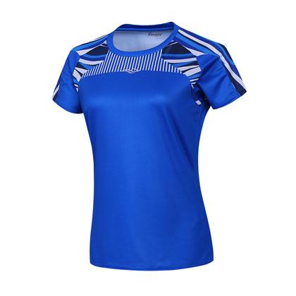 波力BONNY运动圆领衫 1CTL17018  女款 蓝色