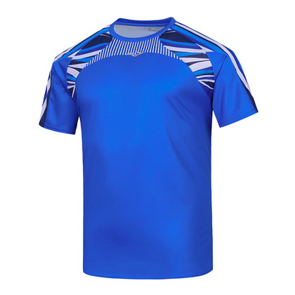 波力Bonny运动圆领衫 1CTM17018 男款 蓝色
