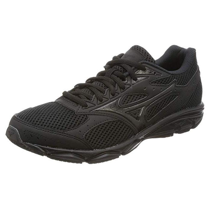 MIZUNO 美津浓 男款经典路跑鞋MAXIMIZER 20 慢跑鞋 K1GA180209 黑