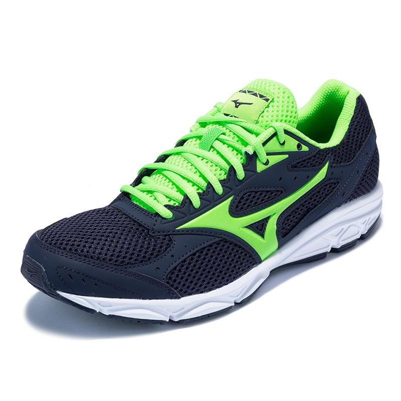 Mizuno美津浓男子跑步鞋轻便户外运动鞋男鞋SPARK 3 K1GA180341宝蓝/荧光绿/亮绿