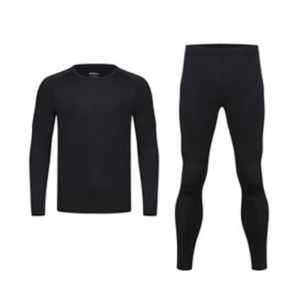 薰风KUMPOO 运动紧身衣套装  KW-8801 KP-881黑色 高弹面料 舒适柔软