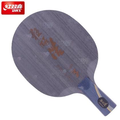 红双喜狂飙皓3(狂飙浩三 狂飙皓Ⅲ )乒乓球拍底板,无机时代王皓的利器,五层单玻碳结构