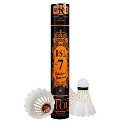 亚狮龙7号球RSL NO.7 羽毛球 12只/筒 鸭毛(RSL7 实惠耐打的亚7,超级经典畅销款羽毛球)