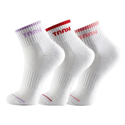 泰昂TAAN运动袜 T-127 女款 中帮(防臭、柔软、耐磨、包裹)