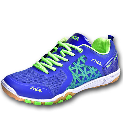 STIGA斯帝卡乒乓球鞋 男女通用款 CS-2621 一体成型专业乒乓球鞋 蓝绿色