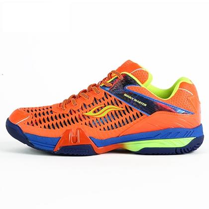 波力Boony羽毛球鞋 大师005 男/女款 橙红 扭转乾坤 专业防护型