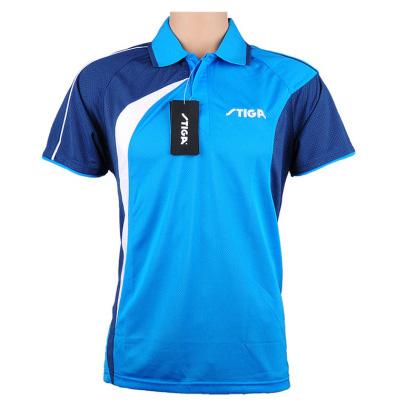 斯帝卡 CA-35121 乒乓球服 蓝色