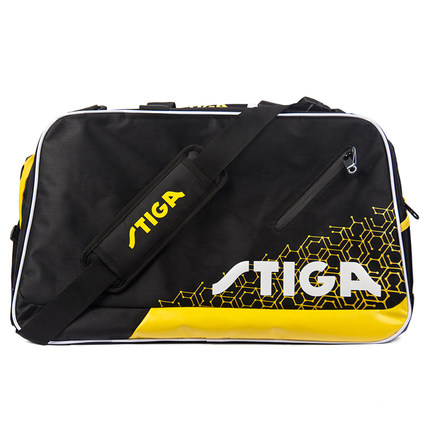 STIGA斯帝卡 CP-7111 乒乓球运动旅行包 多功能教练训练包 黑色