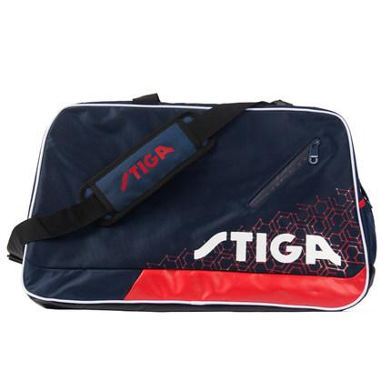STIGA斯帝卡 CP-7122 乒乓球运动旅行包 多功能教练训练包 藏青色