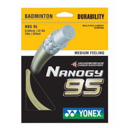 YONEX尤尼克斯 NBG95 羽毛球线,YY综合性能超好的羽线