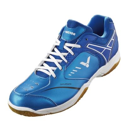 VICTOR胜利羽毛球鞋SH-A501FF 景泰蓝/耀眼蓝(团队训练款,经典重现!)