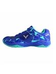 胜利Victor羽毛球鞋 SH-A362-FR中性羽毛球鞋 耀眼蓝/水蓝 透气高弹防滑耐磨全面类