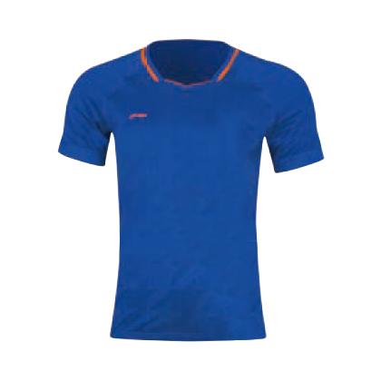 李宁比赛上衣 AAYP023-2 男款 海滨蓝 全英大赛服