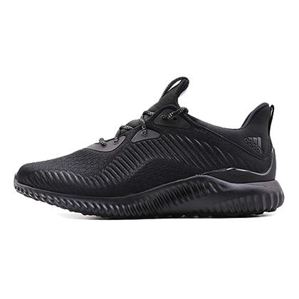 阿迪达斯Adidas阿尔法小椰子跑鞋 alphabounce em m男款跑步鞋 1号黑色/碳黑(舒适缓震,稳定支撑)