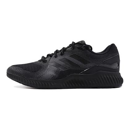 阿迪达斯Adidas小椰子跑鞋 aerobounce st m男款跑步鞋 黑/灰(前掌加宽,稳定支撑)