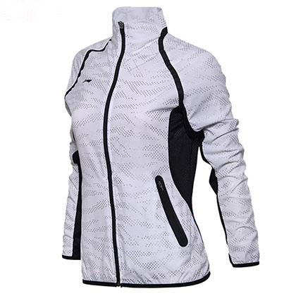 李宁 运动上衣 AYYM034-1 女款 标准白